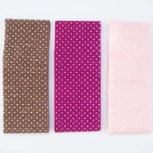 Thick Crepe paper, pink, brown, 9.2cm-9.7cm x 2.5m, 3 sheets, [CR362]
